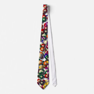 Billiard Balls Tie