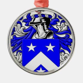 Billiard Coat of Arms Christmas Ornament