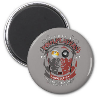 Billiard Lions 6 Cm Round Magnet
