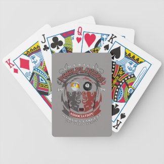 Billiard Lions Bicycle Playing Cards