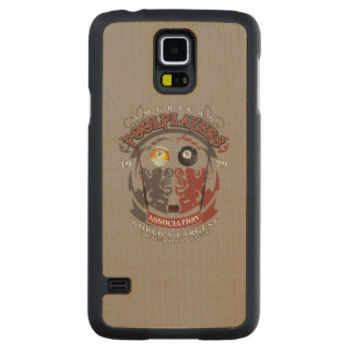 Billiard Lions Carved Maple Galaxy S5 Case