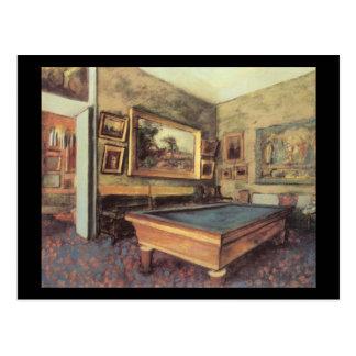 Billiard Room Post Cards