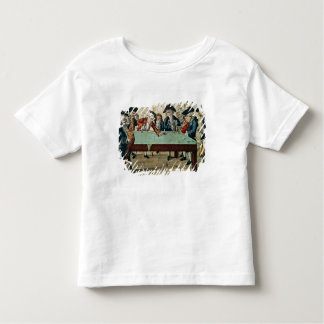 Billiards, 18th century etching by R.Sayer Toddler T-Shirt