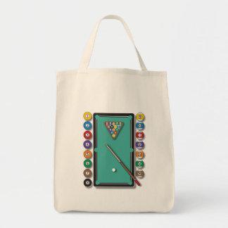 Billiards Canvas Bags