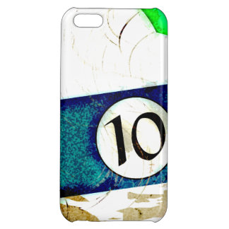 BILLIARDS BALL NUMBER 10 iPhone 5C COVER