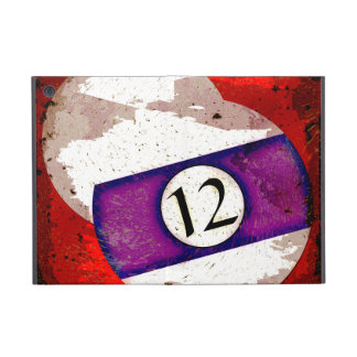 BILLIARDS BALL NUMBER 12 CASES FOR iPad MINI