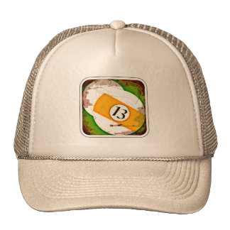 BILLIARDS BALL NUMBER 13 CAP
