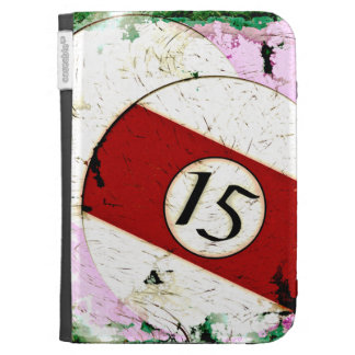 BILLIARDS BALL NUMBER 15 CASE FOR KINDLE