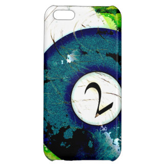 BILLIARDS BALL NUMBER 2 COVER FOR iPhone 5C
