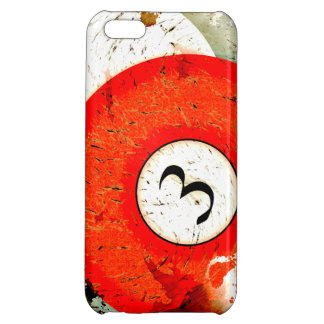 BILLIARDS BALL NUMBER 3 COVER FOR iPhone 5C
