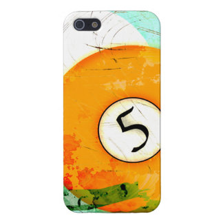 BILLIARDS BALL NUMBER 5 CASE FOR iPhone 5
