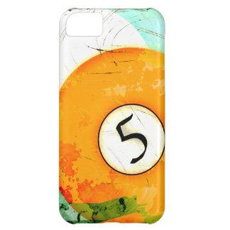 BILLIARDS BALL NUMBER 5 iPhone 5C CASES