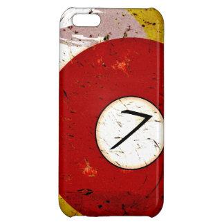 BILLIARDS BALL NUMBER 7 iPhone 5C CASES