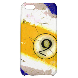 BILLIARDS BALL NUMBER 9 CASE FOR iPhone 5C
