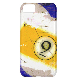 BILLIARDS BALL NUMBER 9 iPhone 5C COVERS