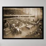 Billiards Chicago IL Photo 1906 Poster