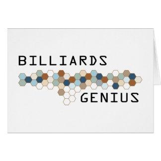 Billiards Genius Cards