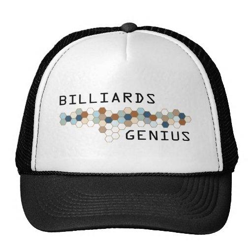 Billiards Genius Hat