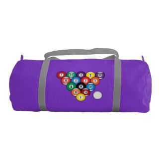 Billiards Gym Duffel Bag