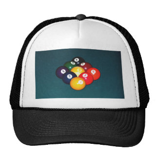 Billiards Nine Ball Trucker Hat