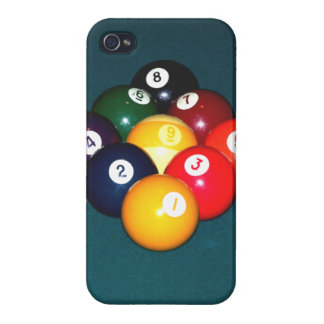 Billiards Nine Ball iPhone 4 Case
