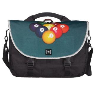 Billiards Nine Ball Laptop Computer Bag