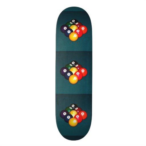 Billiards Nine Ball Skateboard Decks