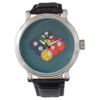 Billiards Nine Ball Watch