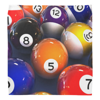 Billiards Pool Balls Bandana
