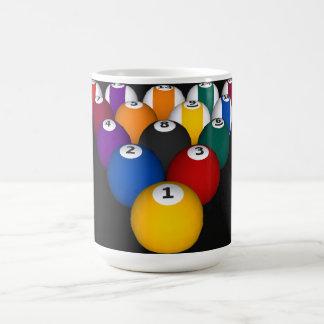 Billiards / Pool Balls: Custom Mug