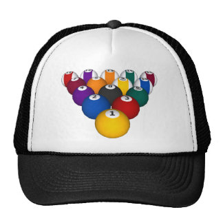Billiards Pool Balls - Custom Trucker Hat