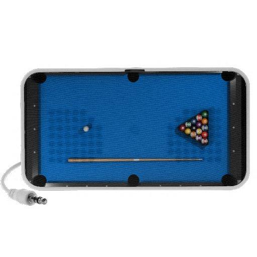 Billiards / Pool Table: Custom Speakers