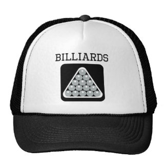 Billiards Rack Mesh Hat