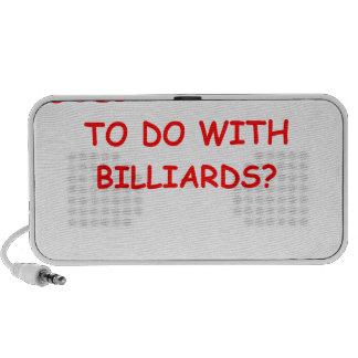 billiards portable speaker