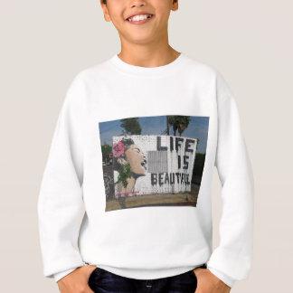 Billie Holiday Street Art Sweatshirt