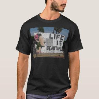 Billie Holiday Street Art T-Shirt