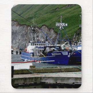 Billikin, Crab Boat in Dutch Harbor, Alaska Mouse Pad