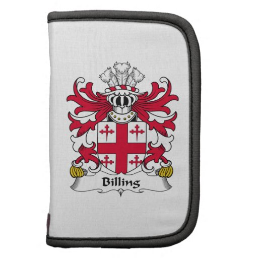 Billing Family Crest Organizers