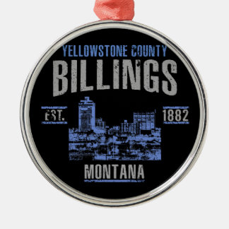 Billings Christmas Ornament