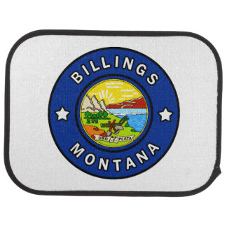 Billings Montana Car Mat