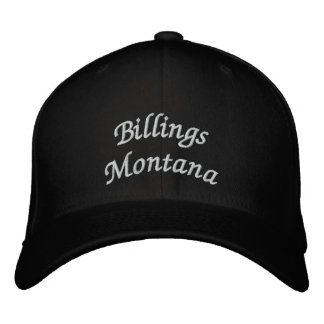 Billings Montana Embroidered Hat