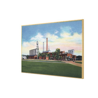 Billings, Montana - Great Western Sugar Company Canvas Print