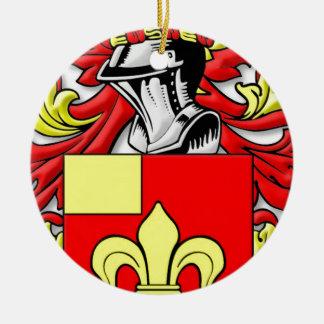 Billingsley Coat of Arms Round Ceramic Decoration