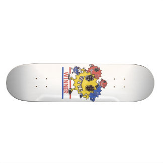 Billions Made winner design. Skateboard Decks