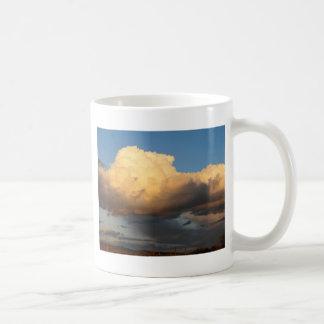 Billowing Clouds in Arizona saguaro cactus Basic White Mug