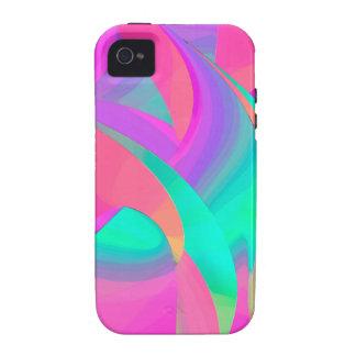 Billowy Art Design Vibe iPhone 4 Cases