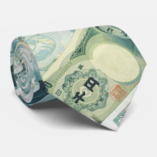 Bills - Money of the World   Great gifts Tie