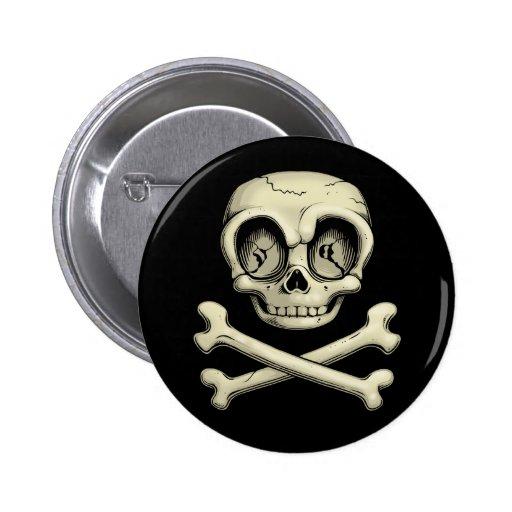 Billy Bones Pinback Button