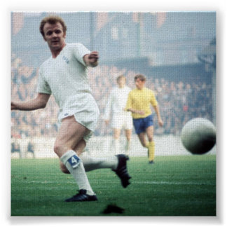 Billy Bremner Canvas Poster