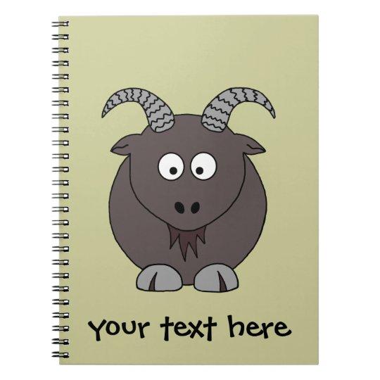 Billy Goat Spiral Notebook